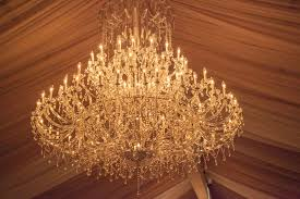 a chandelier fit for a queen