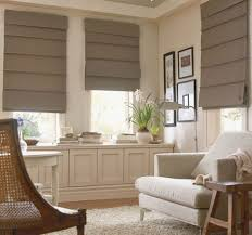 ... Large Size Classic Family Room Ideas With Contemporary Window Treatment  And Wicker Armchair ...