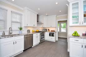 Kitchens With White Granite Off White Kitchen Cabinets With Granite Countertops