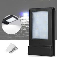 Zonne Energie 5 W 8led Verlichting Sensor Waterdicht Ip65 Wandlamp Ourdoor Tuin Veranda Path Lamp