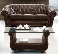 modern sofas living room furniture traditional brown italian leather sofa