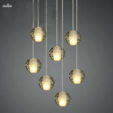 ball crystal chandelier magic ball crystal chandelier lights meteor modern lighting fixture with polished chrome rectangular