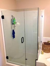 fancy how to clean aluminum shower doors cleaning shower door tracks medium size of glass startling