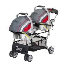 double car seat stroller combo