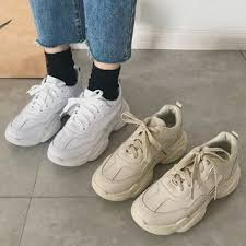 Yesstyle Shoe Size Chart Chunky Platform Sneakers