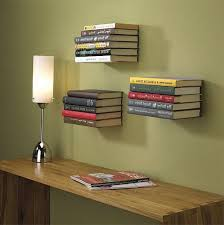 Awesome Bookshelves with Door : Cool Ideas DIY Floating Bookshelves