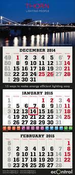 3 Month Calendars Terminic Uk