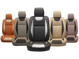 picture of custom fit leatherette 3d car seat covers for tata bolt pl