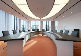 modern half round curved melamine office conference meeting table sz mt118