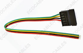 automobile engine hook up cable wire harness sata connector