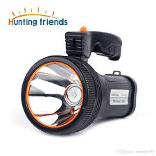 Portable Bright Lights 12pcs Lot Super Bright Led Portable Light Built In 9000ma Rechargeable Battery Us Eu Charger Shoulder Strap Black Silver Gold Color Op
