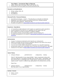 Best Resume Sample Format Download For Freshers Intended How To In