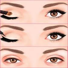 do you know that how to apply eyeliner to make eyes look bigger and shiny