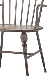 modern arm chair. Rustic Gray Metal Farmhouse Industrial Modern Arm Chairs - Set Of 2 Chair