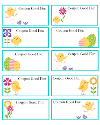 Free Printable Easter Coupons | The Shady Lane