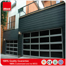 Transparent Clear Glass Rolling Up Polycarbonate Garage Door For