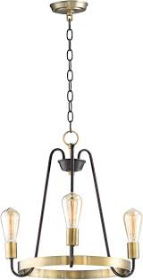 maxim 11733oiab haven modern oil rubbed bronze antique brass mini chandelier lamp loading zoom