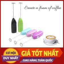 Máy Đánh Trứng Và Tạo Bọt Cafe Cầm Tay Mini Cao Cấp giá cạnh tranh
