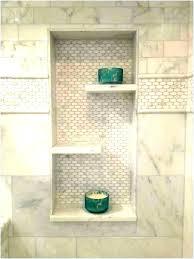 tiled shower insert wonderful tile shelf showers ceramic shelves ideas with design 6 subway recessed diy tile shower shelf