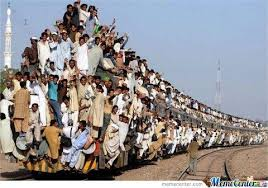 How It Feels When Trains Get So Overcrowded... by rattlecage ... via Relatably.com