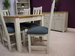 grey extendable dining table. aspen painted oak sage grey extending dining table \u0026 chairs extendable g