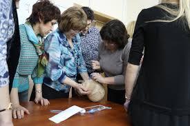 Отчет о семинаре Неотложная помощь в амбулаторной  В ходе 2 части семинара была проведена практическая часть ролевой практикум на манекенах