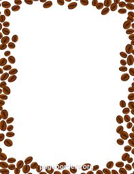 coffee beans border. Beautiful Beans Pin By Muse Printables On Page Borders And Border Clip Art  Pinterest  Coffee Coffee Beans Art To Beans O