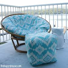 how to make your own papasan cover diy papasan cover tutorial at thehappyhousie com