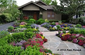 houston patio and garden. Drive-By Gardens: No-lawn Flower Garden At Houston Heights Bungalow Patio And