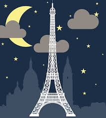 Image result for clipart a night in paris