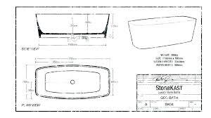 bathroom size for bathtub standard dimensions in cm framing rough uk breath size of bathtub