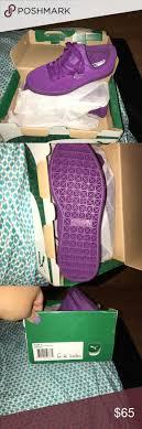 puma shoes purple and black. purple suede pumas nwt puma shoes and black s