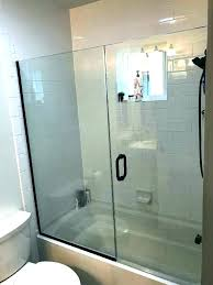 installing shower doors on tile cost to install shower door installing shower doors on a bathtub