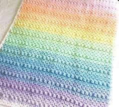 rainbow baby blanket crochet pattern epic eeaffdbaefdc crochet baby blanket patterns crochet baby blankets