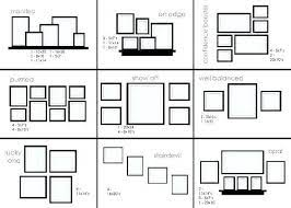 arranging 3 pictures on a wall ideas