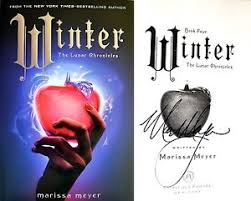 image is loading marissa meyer signed winter lunar chronicles final book