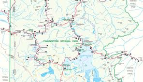 official yellowstone national park map pdf  my yellowstone park