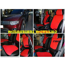 mitsubishi montero high quality factory fit customized leather car seat cover auto accessories others on carou
