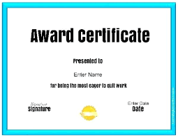 Most Likely To Award Template Free Appreciation Certificate Templates Sociallawbook Co