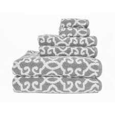 better homes and gardens towels. Unique Homes Better Homes And Gardens Jacquard 6Piece Towel Set Silver Throughout And Towels G