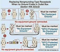 electric work outlet's Wiring Multiple Outlets outlet wiring (multiple gfci) wiring multiple outlets diagram