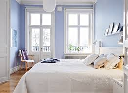 Light blue bedroom