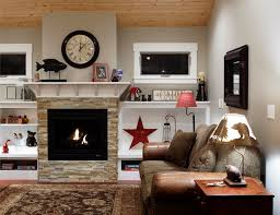 Contemporary Rectangular Fireplace  HouzzHouzz Fireplace