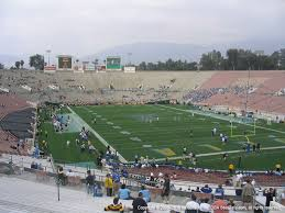 Rose Bowl Seating Chart Ucla Football Rose Bowl Stadium View From Section 24 Vivid Seats