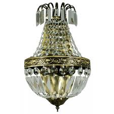 chandelier wall light antique brass le pavillon range