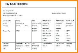 Payroll Check Stub Template Free 15 Paycheck Stubs Templates Free Paystub Confirmation