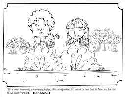 Small Picture Adam and Eve Leave the Garden Coloring Pages Whats in the Bible