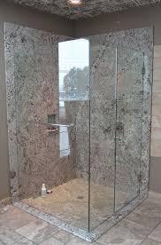 bathroom shower walls granite shower
