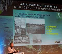 a general oily knowledge quiz featured in the drinks reception at the seapex pesgb asia pacific e p conference 2018 photo credit asia pacific e p