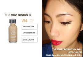 wearing l oreal true match super blendable makeup and true match powder in w4 natural